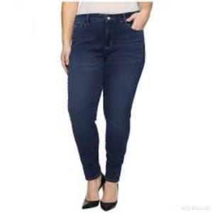 Nydj Dark Jean skinny Leggings w tummy tuck 16W
